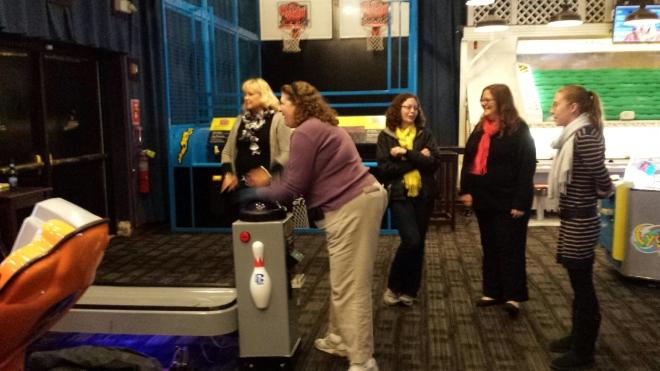 Virtual bowling tournament